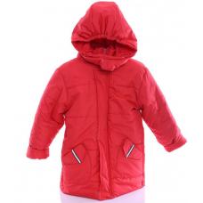 Детская зимняя куртка Babykroha Евро (однотонная) Красный