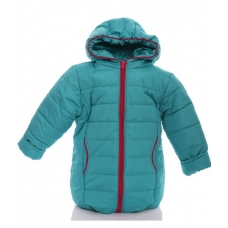 Детская зимняя куртка для девочки Babykroha Евро (однотонная)