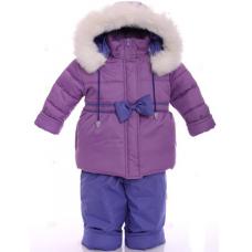 Детский зимний комбинезон Babykroha Евро Фиолетовый