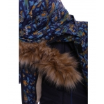 Зимний костюм-комбинезон Babykroha Оригинал (цветной) Синий с машинками