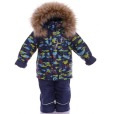Зимний костюм-комбинезон Babykroha Оригинал (цветной) Синий с