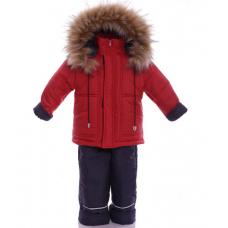 Зимний костюм-комбинезон Babykroha Оригинал (однотонный) Крас