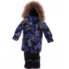 Зимний костюм-комбинезон Babykroha Стиль Синий Chicago
