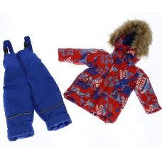 Зимний костюм-комбинезон Babykroha Стиль Красный Chicago