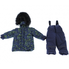Зимний костюм-комбинезон Babykroha Стиль Голубой фигурки