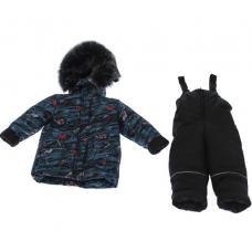 Зимний костюм-комбинезон Babykroha Стиль Зеленый с Маквином