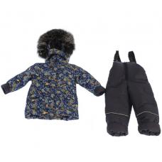 Зимний костюм-комбинезон Babykroha Стиль Синий Тачки