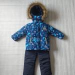 Детский зимний костюм-комбинезон Киндер Sport Geometry