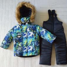Детский зимний костюм-комбинезон Киндер Sport Лыжник