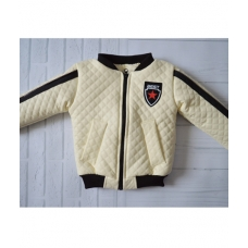 Весенняя куртка для мальчиков Киндер Star Молочный