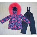 Детский зимний костюм-комбинезон для девочки Киндер Star Flora