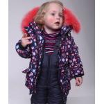 Детский зимний костюм-комбинезон для девочки Киндер Star Kiss