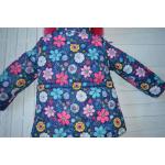 Детский зимний костюм-комбинезон для девочки Киндер Star Flower