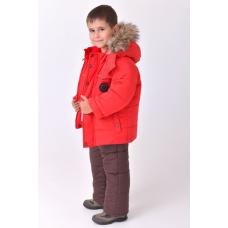 Зимний детский костюм-комбинезон M-Moda Alex Red