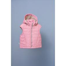 Жилет с капюшоном Модный карапуз Розовый (03-00786-0)