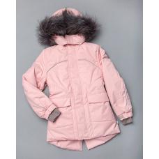 Зимняя куртка-парка Модный карапуз Пудра (03-00887-0)