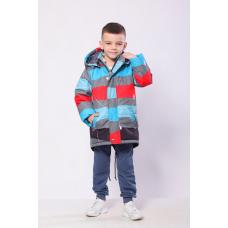 Демисезонная куртка для мальчика Модный Карапуз (03-00971-0)