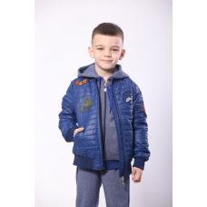 Демисезонная куртка для мальчика Air Force Модный Карапуз (03