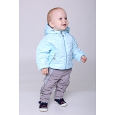 Демисезонная куртка для мальчика Модный Карапуз (03-00956-1)