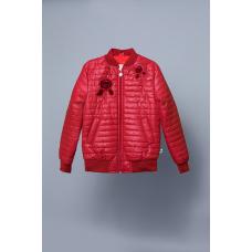 Куртка-ветровка детская для девочки Iris Модный Карапуз Бордо