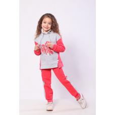 Спортивный костюм утепленный для девочки Монстера Модный Кара