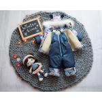 Детский зимний костюм-комбинезон на овчине Natalie Котята