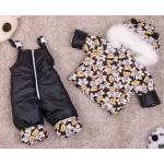 Детский зимний костюм-комбинезон на овчине Natalie Teddy