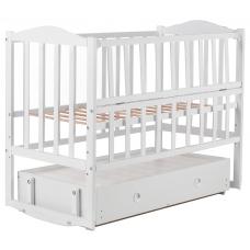 Кровать Babyroom Зайчонок ZL301 маятник, ящик, откидной бок,