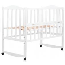 Кровать Babyroom Зайчонок ZL101 откидной бок, Белый