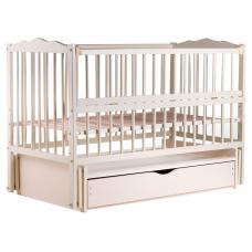 Кровать Babyroom Веселка маятник, ящик, откидной бок DVMYO-3