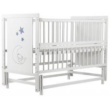 Кровать Babyroom Медвежонок M-02 маятник, откидной бок Бук бе