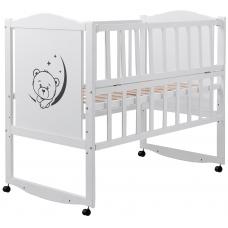 Кровать Babyroom Тедди T-01 фигурное быльце, откидной бок, ко