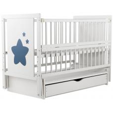 Кровать Babyroom Звездочка Z-03 маятник, ящик, откидной бок Б