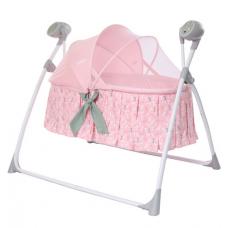 Кроватка-люлька Carrello Dolce CRL-7501 Bow Pink