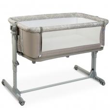 Кроватка-люлька 2 в 1 EL Camino Sleep&play ME 1067 Beige