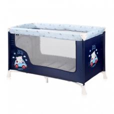 Манеж-кроватка Lorelli SR 1L Blue bear