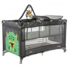Манеж-кроватка Baby Tilly Carrello Molto CRL-11604 Ash Grey (