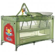Манеж-кроватка Carrello Molto CRL-11604 Cameo Green (90768)