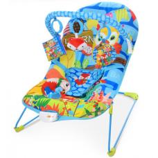 Кресло-качалка Bambi 303-4 Синий