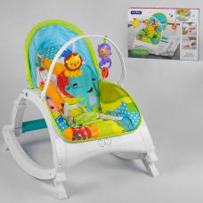 Шезлонг-качалка Fitch Baby Зеленый (88954)