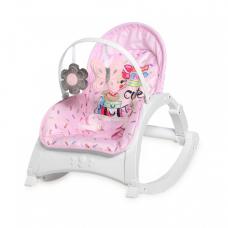 Кресло-качалка Lorelli Enjoy Pink travelling