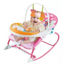 Детский шезлонг-качалка 3 в 1 Dining Chair (8588)