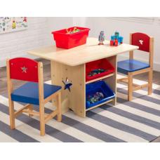 Стол с двумя стульями Kidkraft Star Table&Chair Set (2691