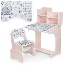 Детская парта с надстройкой и стулом Bambi B 2071-88-2(UA) Пт