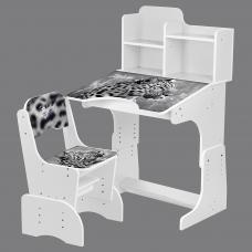 Детская парта с надстройкой и стулом Bambi B 2071-93-1(EN) Ле