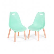 Набор детских стульчиков Battat - Мятные (BX1634Z)