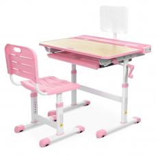 Детская парта со стулом Bambi M 3823A(2)-8 Розовый