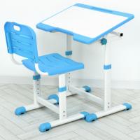 Детская парта со стулом (A60-4) Голубой