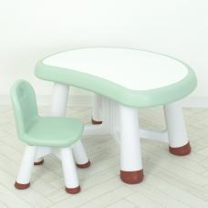 Столик для рисования со стулом Bambi WM19104-5 Светло-зеленый