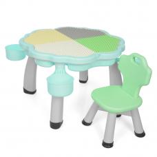 Столик со стулом Bambi YG2020-3-4 Мятный
